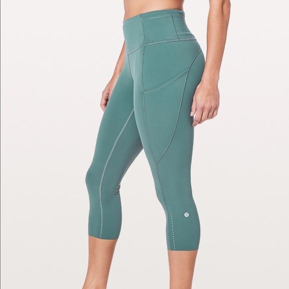 dc9c91e905 lululemon athletica Pants | Lululemons Fast Free Crop Ii Nulux 19 ...